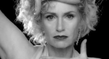 Glee - Sue Sylvester (Jane Lynch) does Madonna