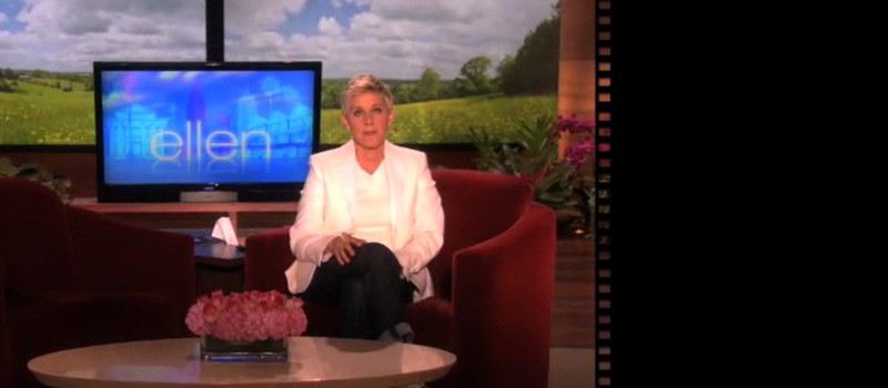 An important message from Ellen DeGeneres