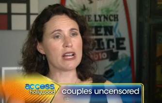 Access Hollywood - Jane Lynch interviews wife Lara Embry