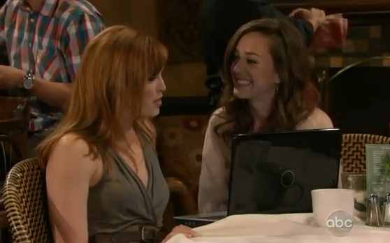 Bianca & Marissa (All My Children) - Part 76 (09/01/2011)