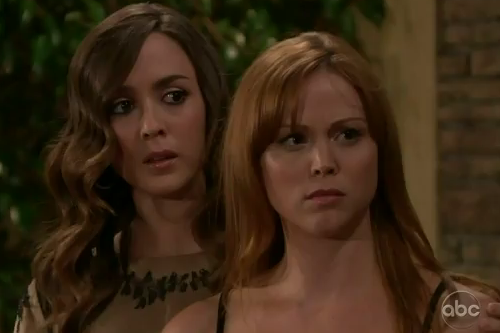 Bianca & Marissa (All My Children) - Part 79 (09/20/2011) (Part 2)