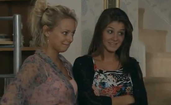 Sophie & Sian (Coronation Street) - 3 October 2011