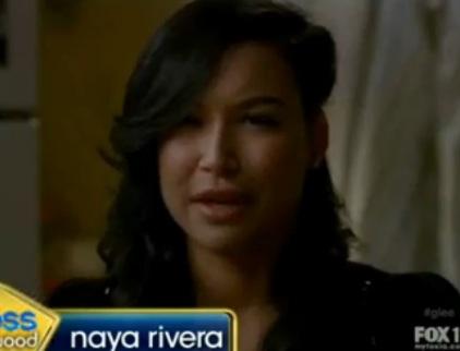 Naya Rivera (Glee) Talks Lesbian Storyline