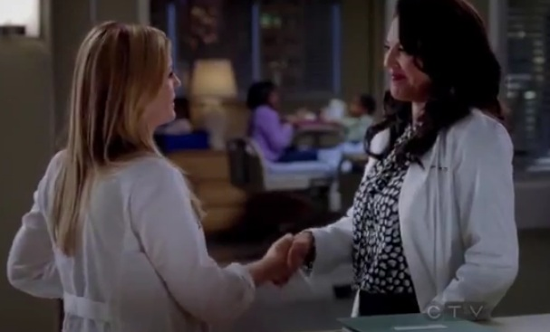 Callie & Arizona (Grey's Anatomy) - Season 8, Ep 13