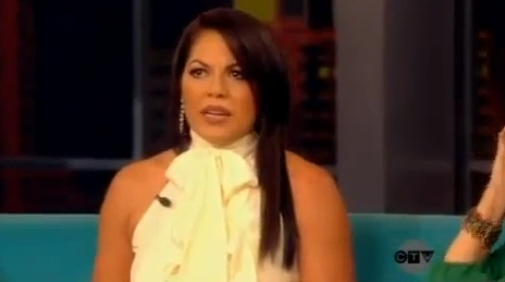 The View - Sara Ramirez - 13 February 2012