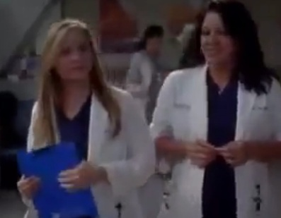 Callie & Arizona (Grey's Anatomy) - Season 8, Ep 18 - Sneak Peek