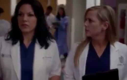 Callie & Arizona (Grey's Anatomy) - Season 8, Ep 19 - Sneak Peek 3