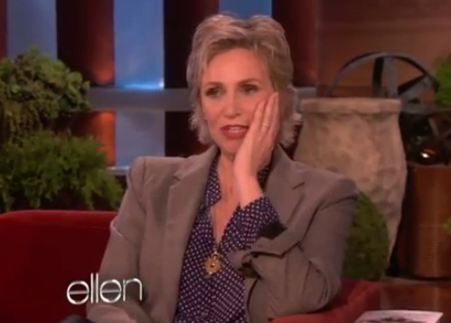 The Ellen Show - Jane Lynch Dance Dare