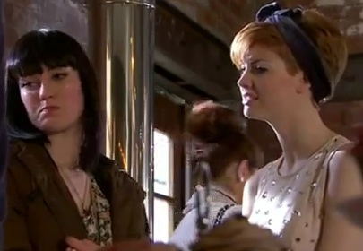 Tilly & Jen (Hollyoaks) - 13 April 2012