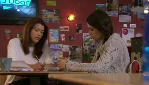Texas & Jodie (Hollyoaks) - 4 April 2012