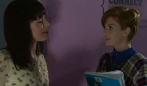 Jen & Tilly (Hollyoaks) - 23 April 2012