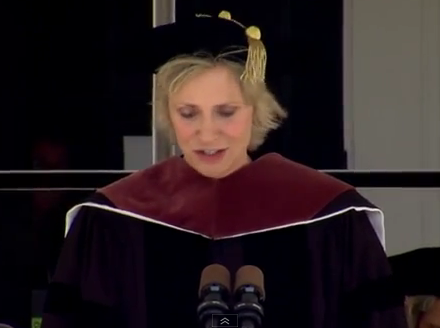 Smith College 2012 Commencement Speaker Jane Lynch