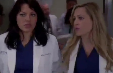 Callie & Arizona (Grey's Anatomy) - Season 8 - Episode 22 - Sneak Peek