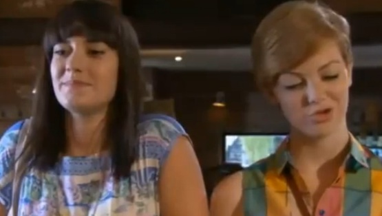 Jen & Tilly (Hollyoaks) - 12 July 2012