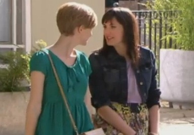 Jen & Tilly (Hollyoaks) - 15 August 2012