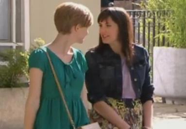 Jen & Tilly (Hollyoaks) - 15 August 2012