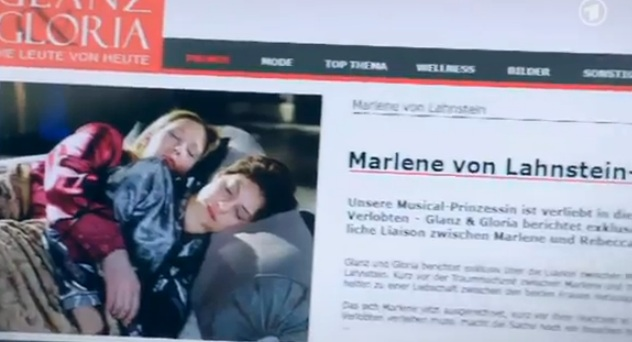 Rebecca & Marlene (& Juliette) (Verbotene Liebe) - Episode 4122 - Part 2