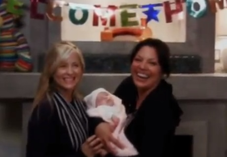 Callie & Arizona (Grey's Anatomy) - Season 9, Episode 1