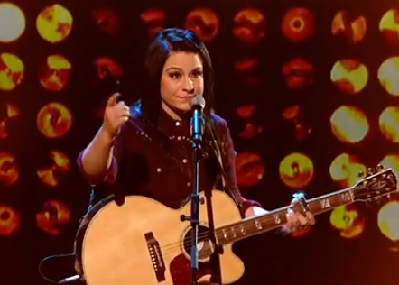 Lucy Spraggan - The X Factor - Live Show 1 - Mountains