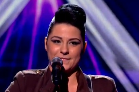 Lucy Spraggan - The X Factor - Live Show 3 - Titanium