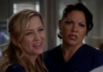 Callie & Arizona (Grey's Anatomy) - Girl On Fire