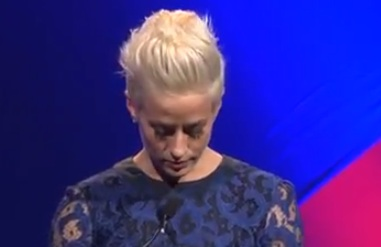 L.A. Gay & Lesbian Center 41st Anniversary Gala - Megan Rapinoe Accepts Board of Directors Award