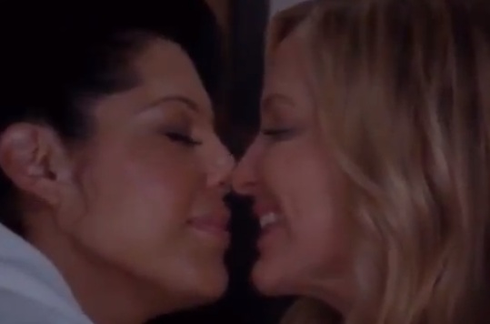 Callie & Arizona (Grey's Anatomy) - Season 9, Episode 10