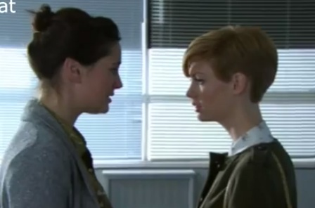 Jen & Tilly (Hollyoaks) - 16 January 2013