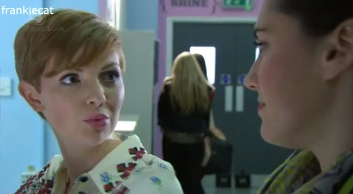 Jen & Tilly (Hollyoaks) - 18 January 2013