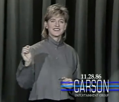 Ellen's First Major TV Appearance