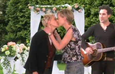 Ellen Celebrates Portia's Birthday