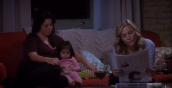 Callie & Arizona (Grey's Anatomy) - Season 9, Episode 16