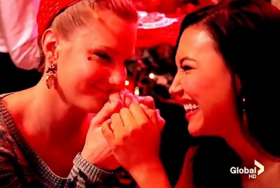 Brittany & Santana (Glee) - All The Kisses