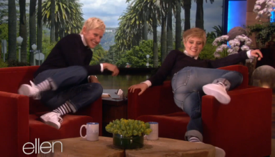 The Ellen Degeneres Show - Kate McKinnon Does Ellen
