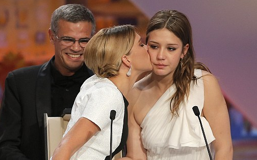 Blue Is The Warmest Color wins top award at Cannes