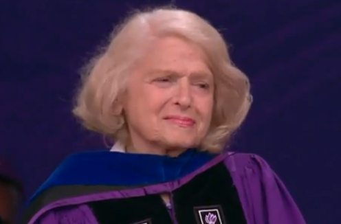 Edith Windsor, DOMA Plaintiff, Accepts Presidential Medal At NYU Graduation