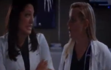 Callie & Arizona (Grey's Anatomy) - Season 9, Episode 21 - Missing Scene
