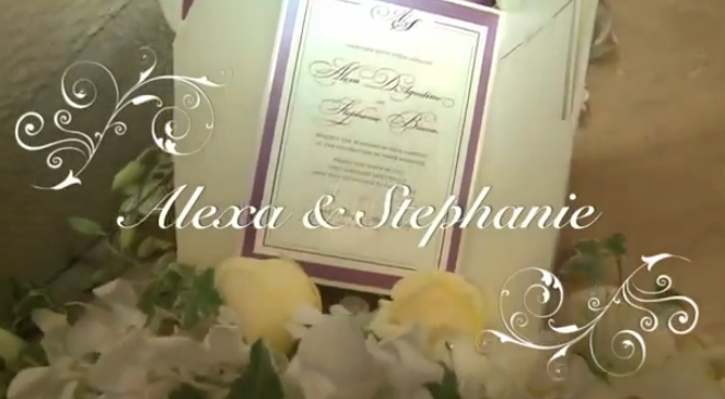Alexa and Stephanie - Wedding Ceremony