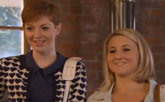 Tilly & Esther (Hollyoaks) - 10 June 2013
