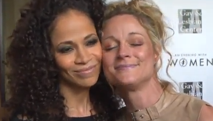 The Fosters - Teri and Sherri talk lesbian, their chemistry and the show