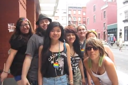 Arielle Scarciella - It's OK to be Gay - NYC Pride 2013
