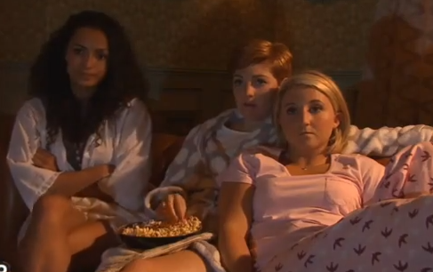 Tilly & Esther (Hollyoaks) - 29 July 2013