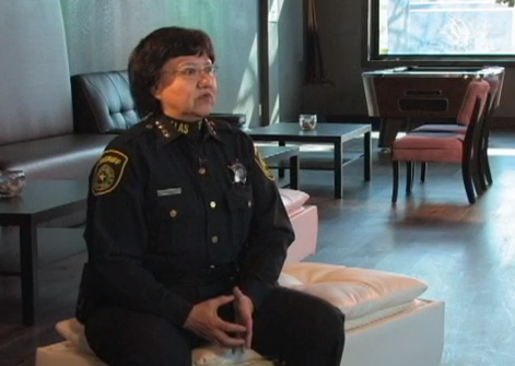 Dallas County Sheriff Lupe Valdez on Being Gay in Politics
