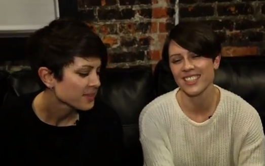 Tegan and Sara Support Marriage Equality