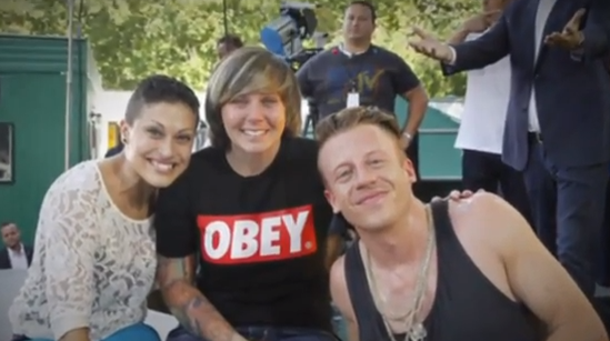 Marriage Proposal at 'GMA' Macklemore Concert