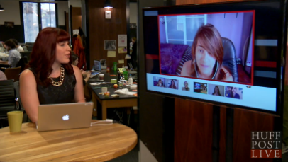 HuffPostLive - Bridging The Lesbian-Bisexual Divide
