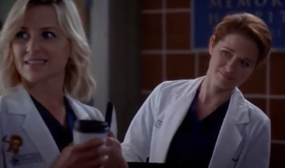 Callie & Arizona (Grey's Anatomy) - Season 10, Episode 5 (Part 1)