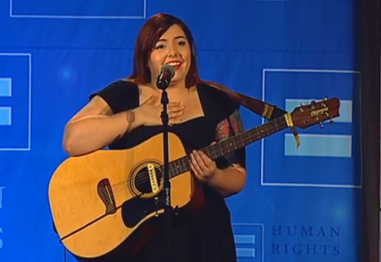 Mary Lambert Performs at the 29th Annual HRC San Fransisco Bay Area Gala