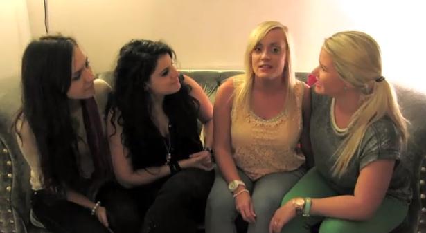 Bria & Chrissy (ft Megan & Whitney aka Wegan) - Lesbian Stereotypes