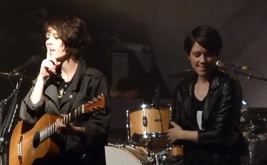 Tegan & Sara - Call it Off (Live @ Theaterfabrik Munich)